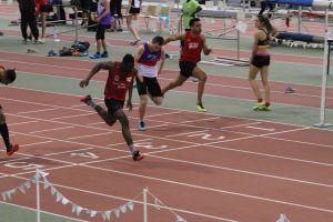 Ali lors de son record sur 60m