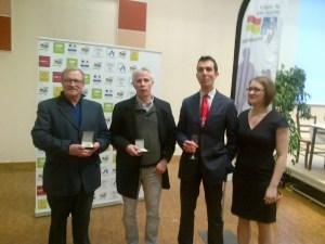 A droite de la photo, Morgane du BOUC Froissy qui a été élue au Comité Directeur de la LPA