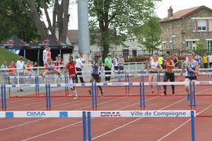Anathée et Rébecca sur 100m haies
