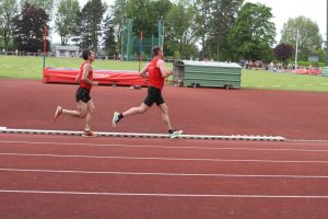 Fabrice et Bruno sur 5000m