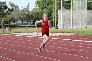 Lucie sur 100m