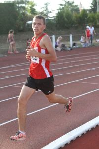 Mathieu va chercher un record personnel au 1000m