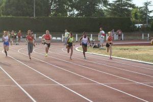 La finale du 100m!