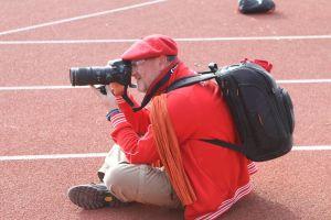 Un photographe à l'affut!