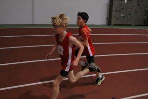 Timothé et Jules à la lutte sur 1000m