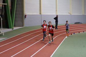 Jonathan lance le sprint devant François