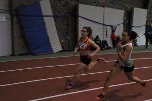 Cécilia en route vers son record sur 400m