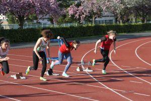 Louise-Anne sur 100m