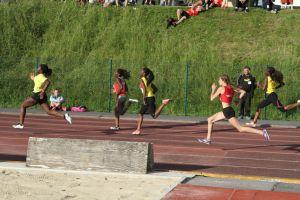 Clara à la lutte sur 100m
