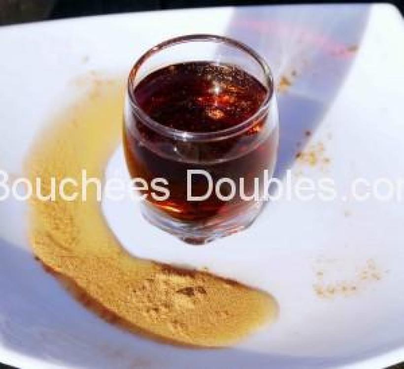 Trés coloré et parfumé le sirop de sucre de canne ravira vos papilles !
