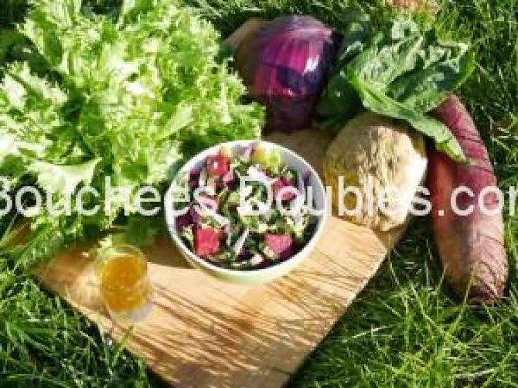 salade alcaline express