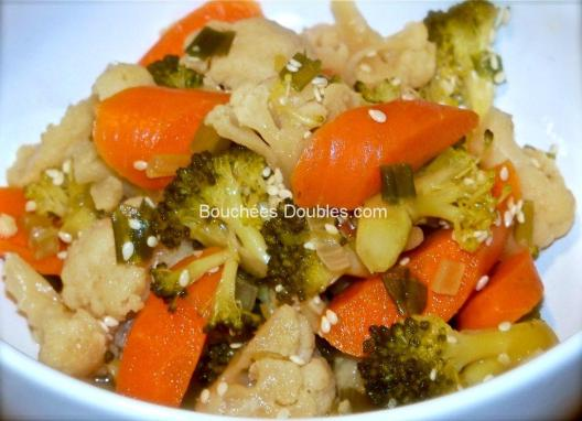 pickels de carottes chou fleur et brocolis