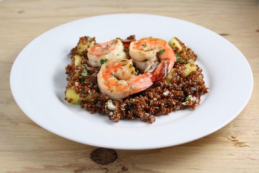 Lentilles et gambas aux épices : proteines-vegetales-et-proteines-animales-2