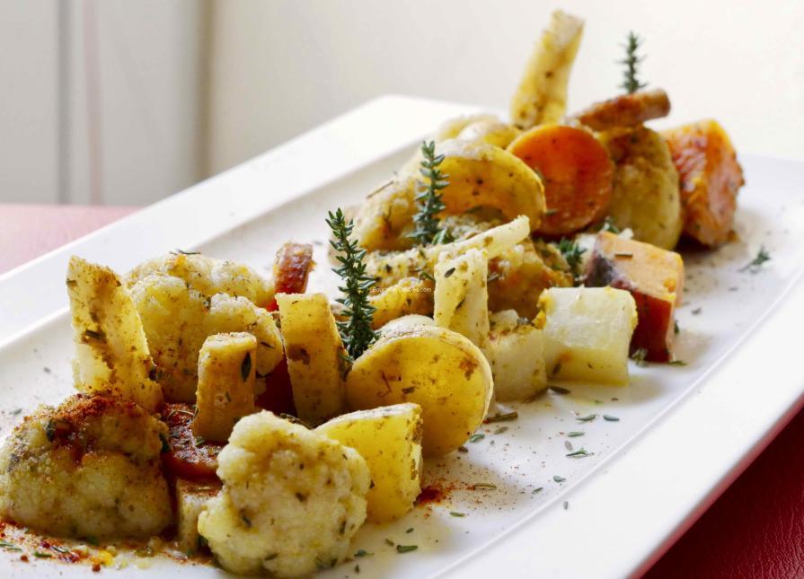 Recette acido-basique - Estouffade de légumes à l'ail et épices