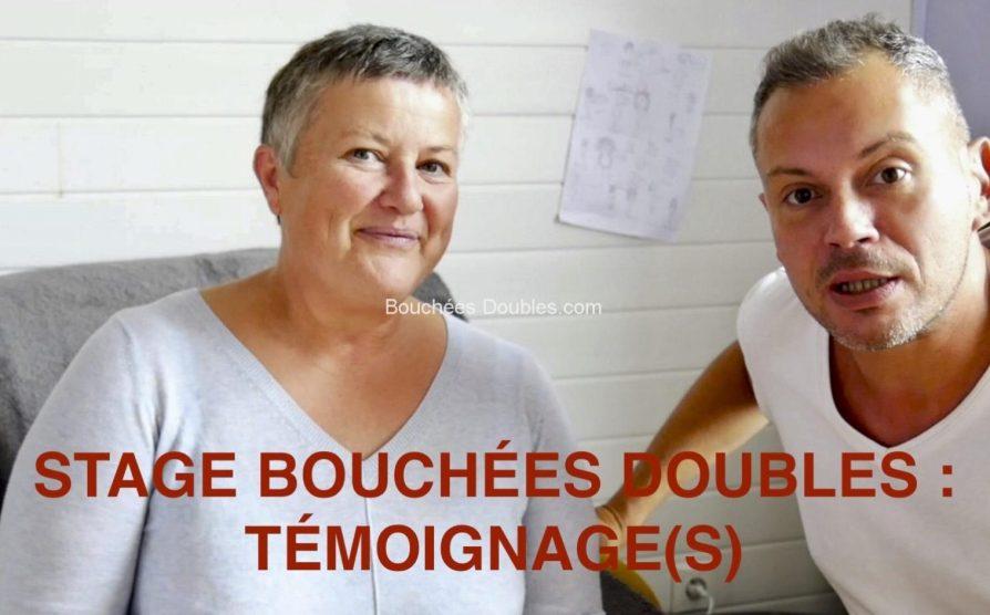 Stage Bouchées Doubles Témoignage de Lucie