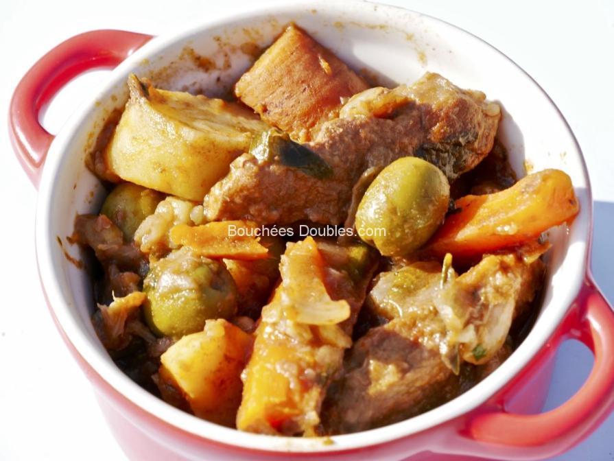Cliquez ici pour voir la recette alcaline de cuisine acido-basique : cataplana de viande et légumes à la coriandre