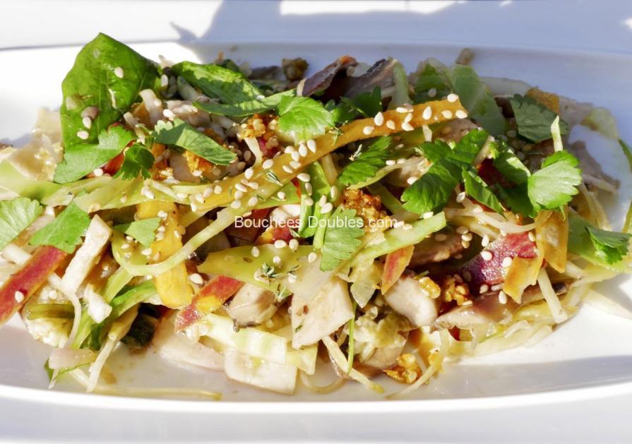 Cliquez ici et découvrez cette recette de cuisine alcaline. Une salade gourmande et bénéfique pour notre équilibre acido-basique et notre santé.