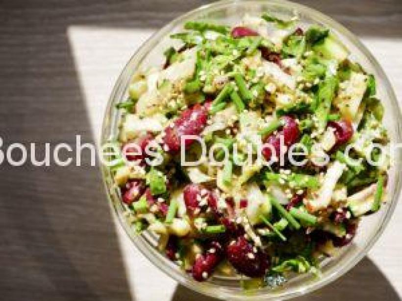 Cliquez ici pour découvrir comment faire cette salade alcaline composée, gourmande et pleine d'atouts santé !
