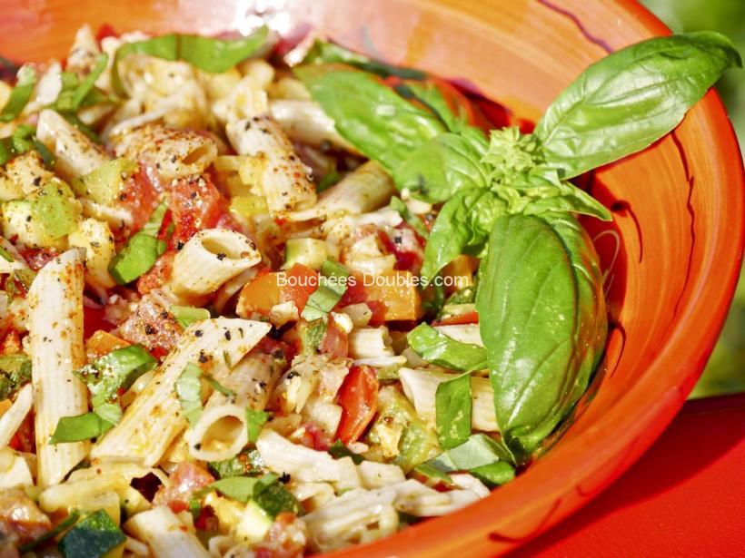 Salade alcaline composée, une bonne salade santé.
