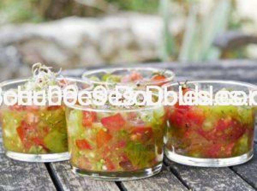 Découvrez cette recette facile et rapide de tartare alcalin au quatre tomates, savoureux et bourré d'atouts santé. Ils sont spécifiés.