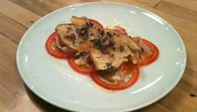 Comptoire Charcuteries : Carpaccio de tomates