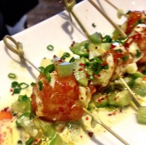 Crevettes de roche aigre-douces