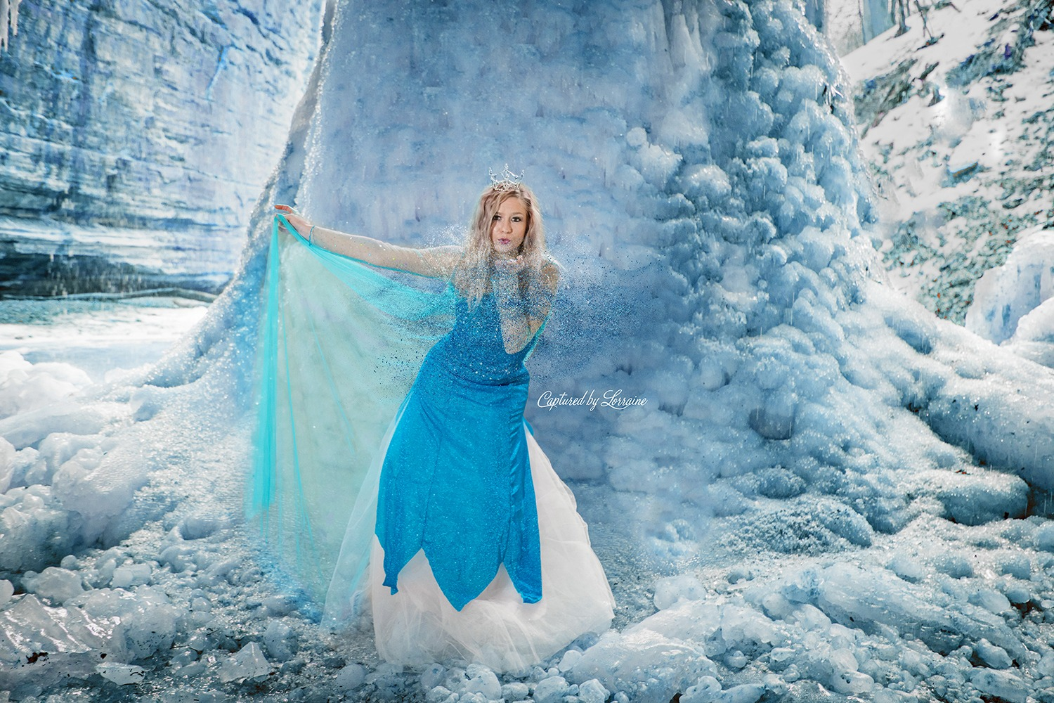 Frozen Elsa Disney Boudoir Outdoors