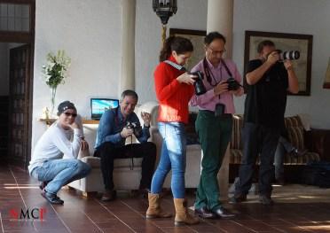 Gonzalo Villar, Javier Salinas, Abigail Alvarado, Eduardo Palencia y JL Ronin - NMCP Madrid 2016 - Photo: Manuel Torres