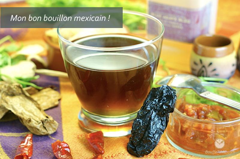 Recette de bouillon mexicain | BouffeTIME!