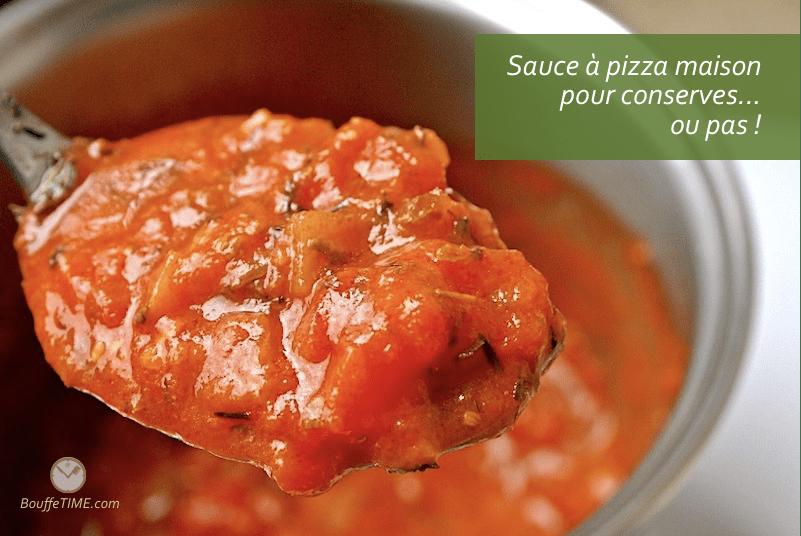 Recette de sauce à pizza maison pour conserves | BouffeTIME!