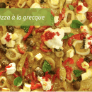 Recette de pizza à la grecque   BouffeTIME!