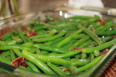 Green Beens + Bacon - Side