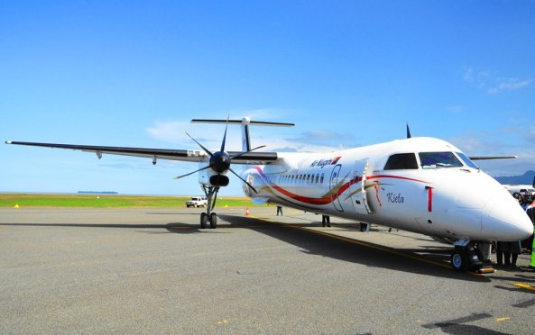 Bombadier Q400 named after Kieta