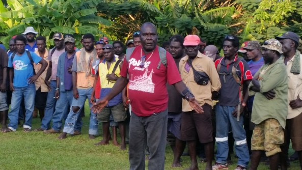 Cornelius Solomon on behalf of excoms affirms ABG support
