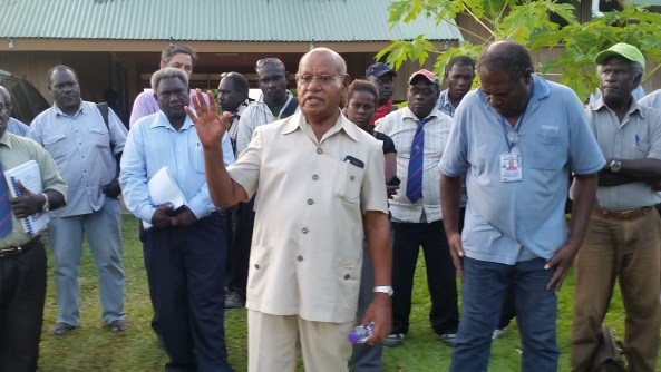 Grand Chief Momis addresses Excoms