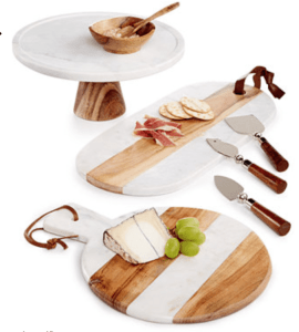 Click Image to Buy Thirstystone Marble and Wood Server-ware as a Mother's Day Gift