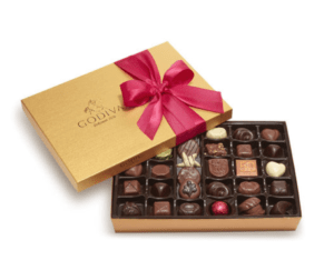 Click Image to purchase a box of Godiva assorted chocolates as a mother's day gift