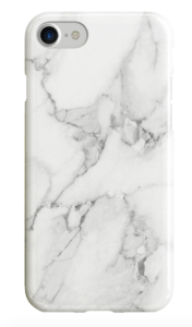 Click on Image to purchase Recover White Marble iPhone case