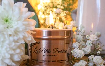 Bougies végétales parfumées :Des Fragrances de qualité sinon rien!
