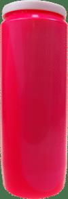 Lampe de sanctuaire rose le coeur par bougie vip