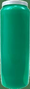Lampe de sanctuaire verte le succes par bougie vip