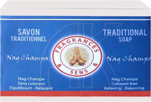 Savon-nag-champa-fragrances-&-sens-100g-bougievip