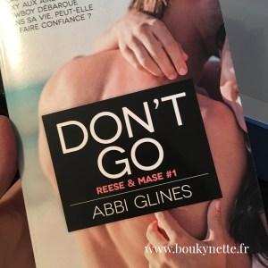 Don't go - Abbi Glines
