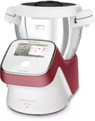robot cuiseur moulinex i companion touch xl rouge hf934510