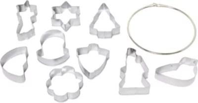 emporte pieces essentielb lot de 9 en metal 5x5 5cm