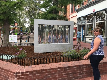 """Michael Theodore's """"are you me?"""" a part of Experiments in Public Art"""