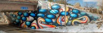 Mural by Anna Charney (photo by Ladd Forde of Forde Photography)