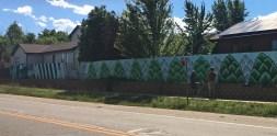 Sam Cikauskas's mural for Creative Neighborhoods