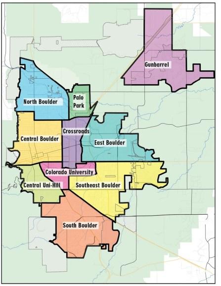 Existing subcommunity boundaries