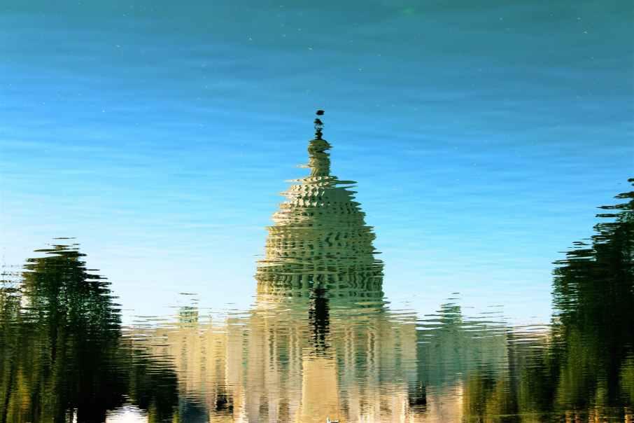 architecture building capitol dawn